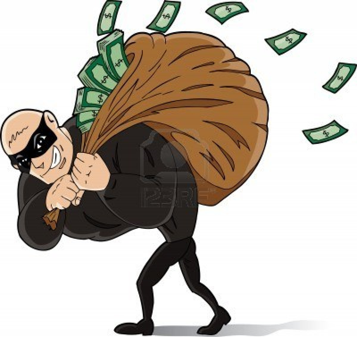 6944677-big-thief-stealing-a-lot-of-money