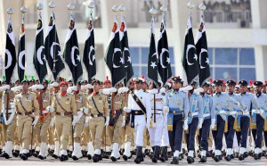 Pakistan Army, Air Force and Navy 3 Powers